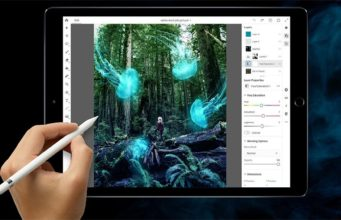 photoshop na ipad pro s apple pencil