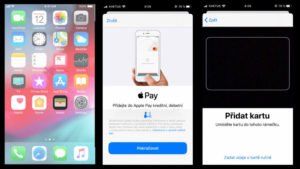 aktivace apple pay na iphone
