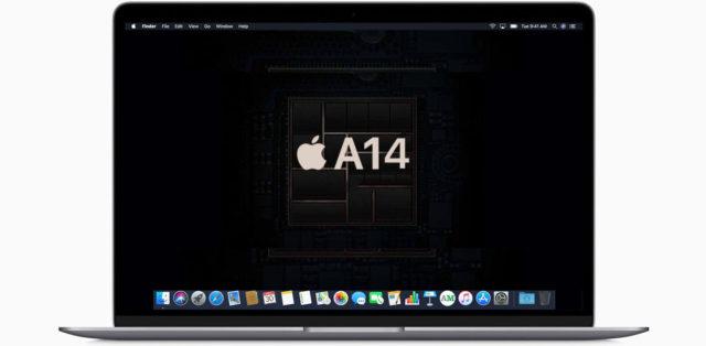 mac s arm procesorem apple a14