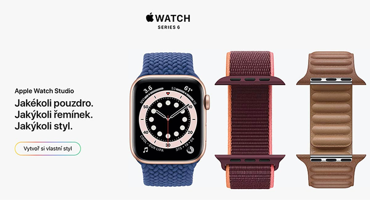apple watch series 6 ruzne reminky