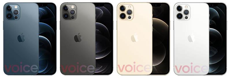 iphone 12 pro odhalen modra barva nahradi zelenou